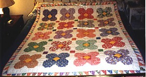 30's Circle Flower Quilt