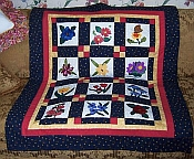 Peggy's Vermont Posy Patch Quilt