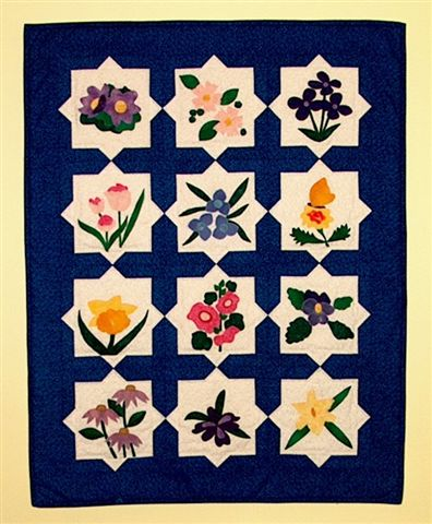 Donna's Posy Patch Quilt