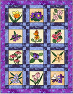 Vermont Posy Patch Quilt